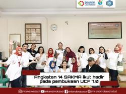 Silaturahim bersama angkatan 14 SAKMA Makassar di pembukaan UCF 7.0