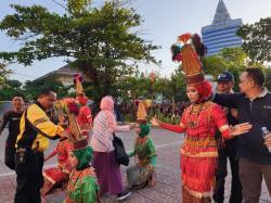 PESTARAGA dan perkemahan akbar menjadi kemeriahan perayaan HUT SMK SMAK Makassar