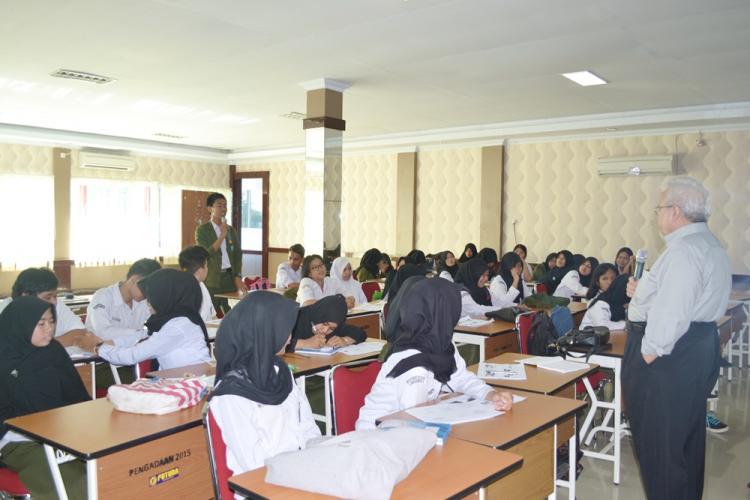 Pelaksanaan Pelatihan K3 Bagi Siswa / i Kelas 4