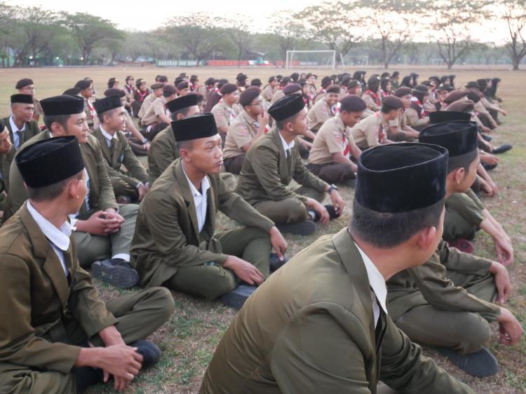 {SMK SMAK Makassar} Pelatihan LDK Bela Negara wujud upaya peningkatan rasa Nasionalisme bagi pelajar